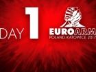 Чемпионат Европы: результаты, день первый