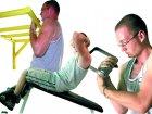 Тренировка на бицепс  в трех этапах ч.1