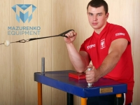 Пример упражнений с половинкой стола Mazurenko Equipment