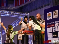 """Mariam Mahmoud: """"I started to do armwrestling on my own"""""""