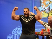 Big, strong and charismatic Levan Saginashvili