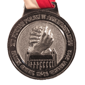 МЕДАЛЬ – XIII Кубок Польши по армрестлингу 2012