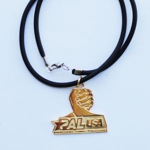 Кулон PAL USA, золотой
