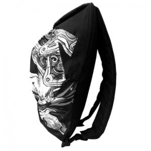 Спортивный рюкзак из коллекции ARMFIGHT - модель черный / белый