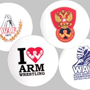 """Магнит  """"I love"""", """"Russian Team"""", """"World 2013"""", WAF"""