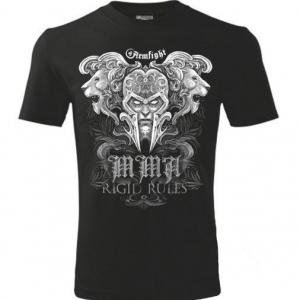 Футболка LIONS ARMFIGHT (унисекс) - черный