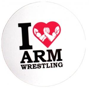 Магнит - I love Armwrestling