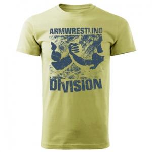 Футболка unisex ARMWRESTLING  DIVISION - зеленая