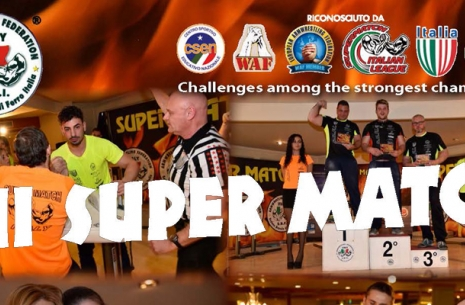 Армфайты на Super Match в Италии # Aрмспорт # Armsport # Armpower.net