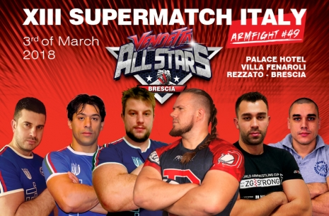 XIII SUPERMATCH ITALY # Aрмспорт # Armsport # Armpower.net