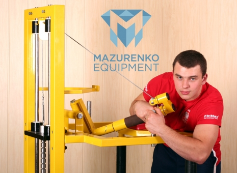 ТРЕНИРУЙСЯ НА ТРЕНАЖЕРАХ МАЗУРЕНКО - Машина МАZURENKO.  # Aрмспорт # Armsport # Armpower.net